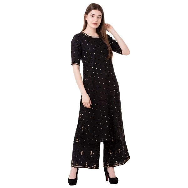 Women's Rayon Suit With New Look