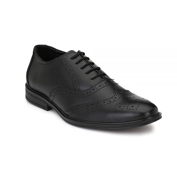 Mens Genuine Leather Formal Oxford Shoes